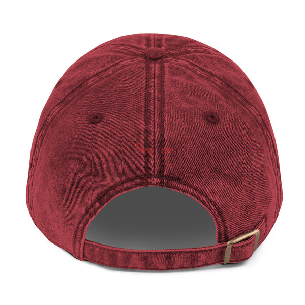 SVGE Collection BURGANDY Vintage Cap - Savage Season Apparel Store