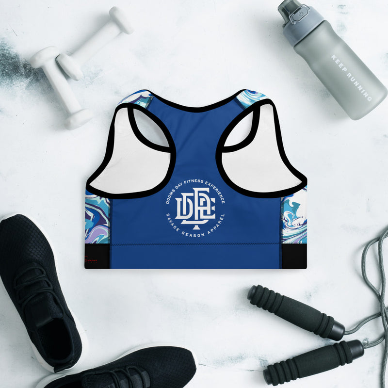 Premium Collection 'DDFE' Sapphire x Fusion Performance Top - Savage Season Apparel Store