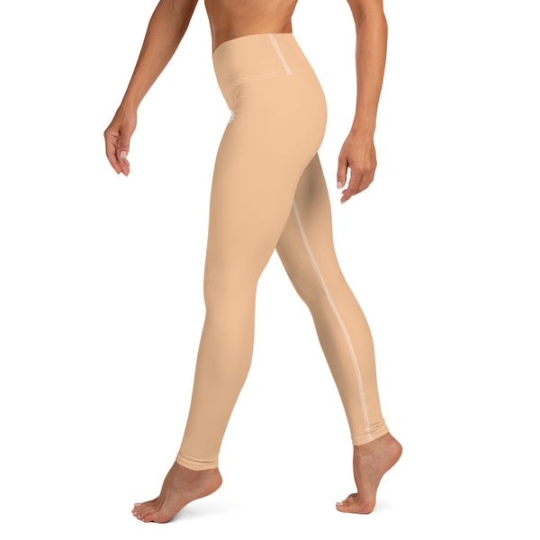 'DDFE' High Waist Nude Performance Leggings - Savage Season Apparel Store
