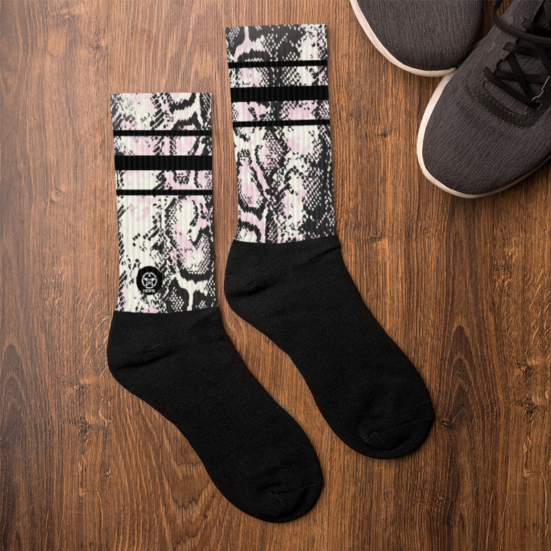 'Savages ONLY' RATTLER Crew Sock - Savage Season Apparel Store