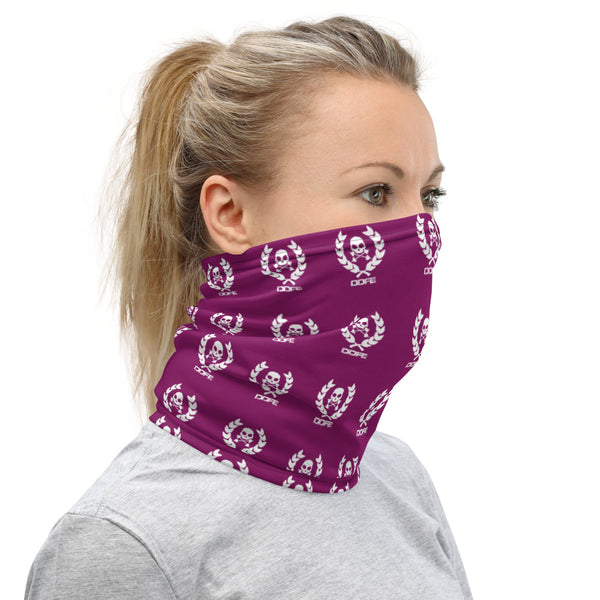'DDFE' Purple Neck Gaiter - Savage Season Apparel Store