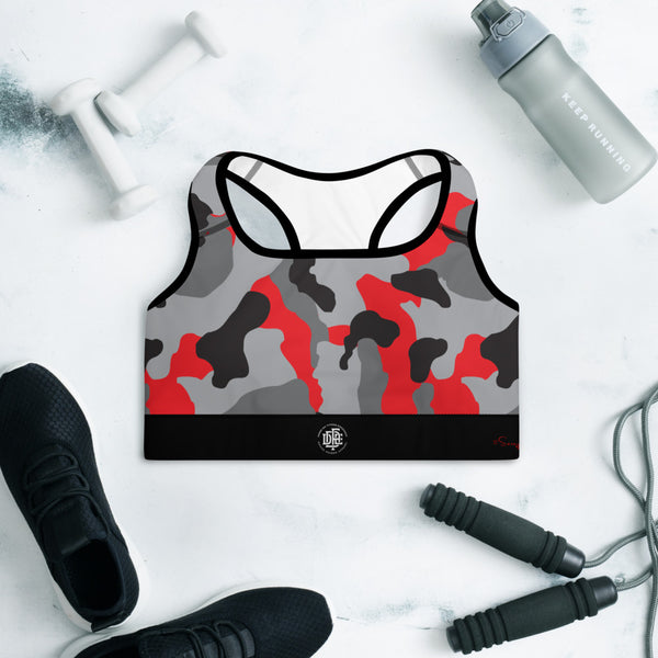 Premium Collection 'DDFE' Battle Red Camo Performance Top - Savage Season Apparel Store