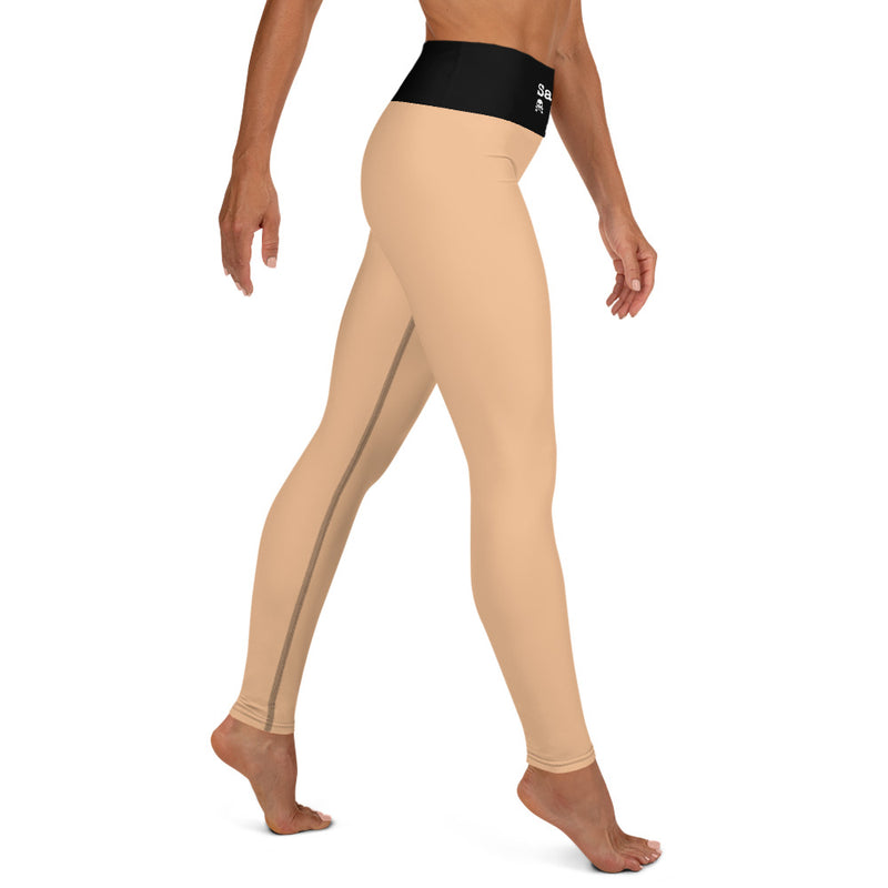'Savages ONLY' High Waist Nude Performance Leggings - Savage Season Apparel Store