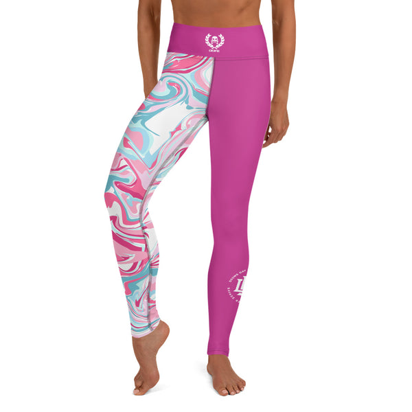 Premium Collection Perfect Pink x Swirl Leggings - Savage Season Apparel Store