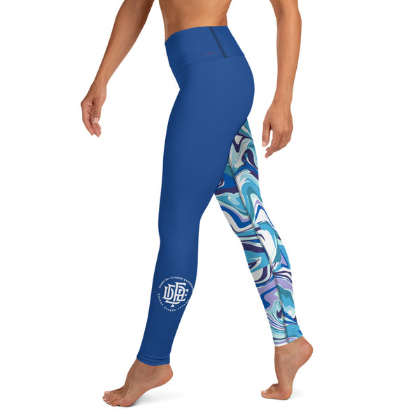 Premium Collection Royal x Fusion Leggings - Savage Season Apparel Store