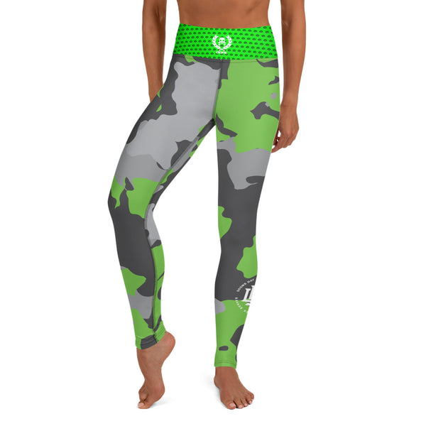 Premium Collection Emerald Camo Leggings - Savage Season Apparel Store