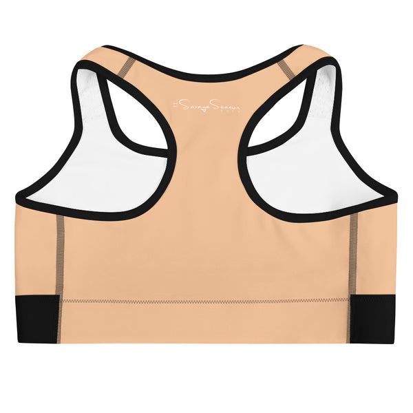 'Savages ONLY' Nude Sports Bra - Savage Season Apparel Store