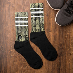 'Savages ONLY' PYTHON Crew Sock - Savage Season Apparel Store