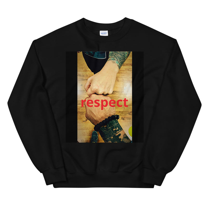 'Respect' Unisex Sweatshirt - Doomsday Fitness Apparel by Doomsday Fitness Experience