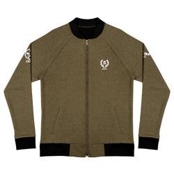 'DDFE' Army Green Bomber Jacket - Savage Season Apparel Store