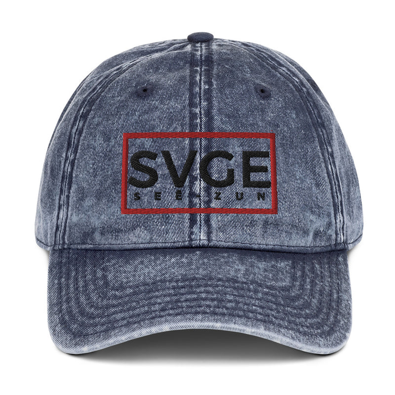 SVGE Collection BLUEY Vintage Cap - Savage Season Apparel Store