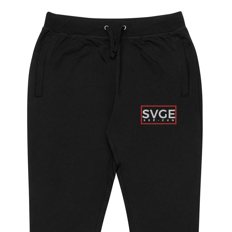 SVGE Collection Black Lifestyle Joggers - Savage Season Apparel Store