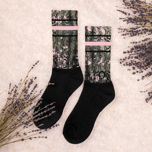 'Savages ONLY' BOA Crew Sock - Savage Season Apparel Store