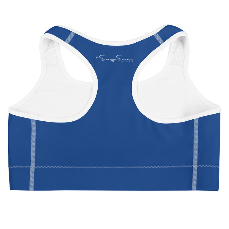 'DDFE' Royal Sports Bra - Savage Season Apparel Store
