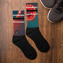 'Savages ONLY' KORONA Crew Sock - Savage Season Apparel Store