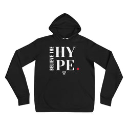 'Believe The Hype' Black x White Pullover Hoodie - Savage Season Apparel Store