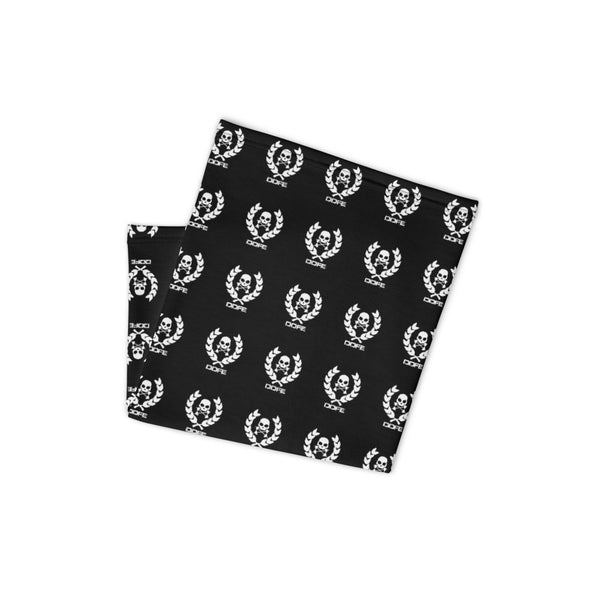 'DDFE' Black Neck Gaiter - Savage Season Apparel Store