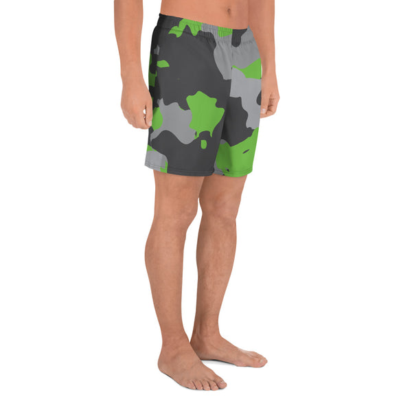 Premium Collection 'DDFE' Emerald Camo Hybrid Shorts - Savage Season Apparel Store