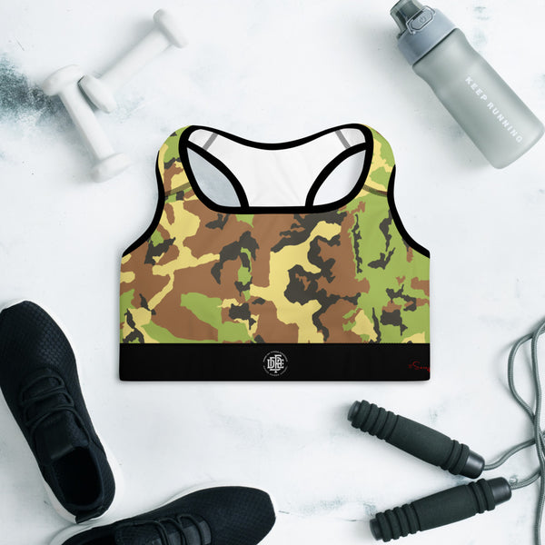 Premium Collection 'DDFE' Army x Gold Performance Top - Savage Season Apparel Store