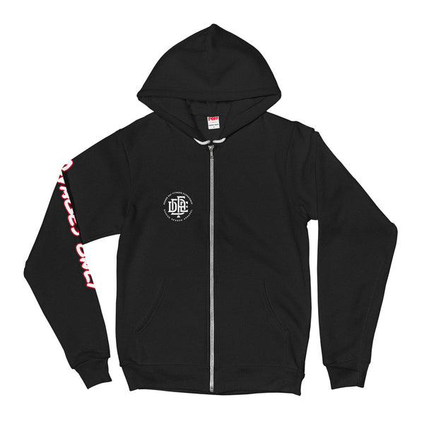 5-Star-G Unisex Black Zip Hooded Sweatshirt - Savage Season Apparel Store
