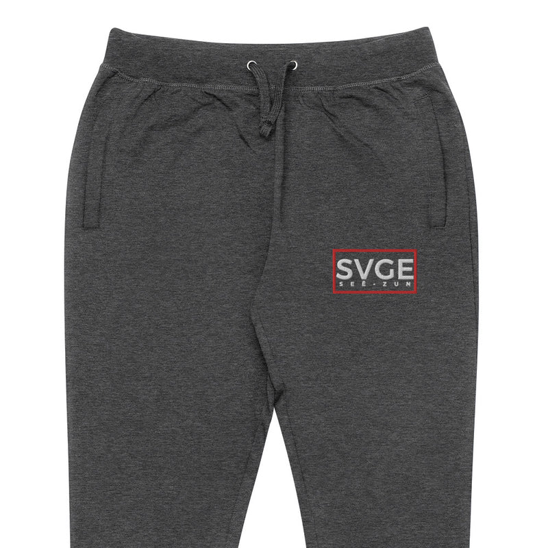 SVGE Collection Dark Grey Lifestyle Joggers - Savage Season Apparel Store