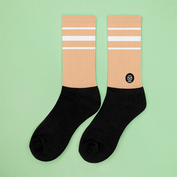 Classic Nude Crew Sock - Savage Season Apparel Store