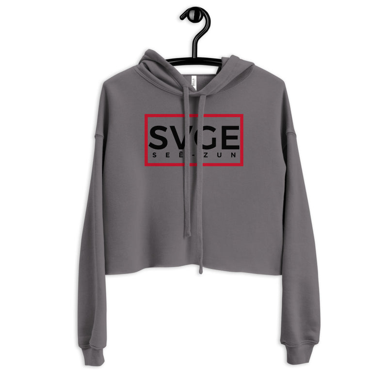 SVGE Collection Storm Crop Hoodie - Savage Season Apparel Store