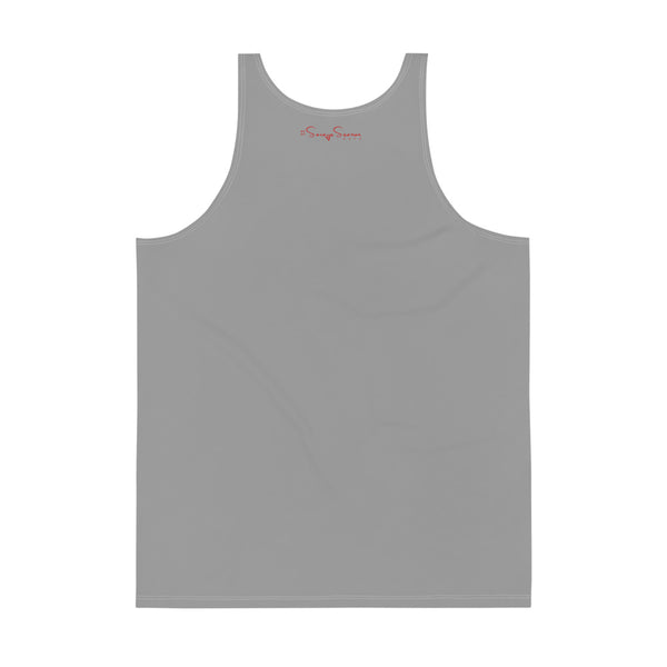 Premium Collection Grey Muscle Tank Top - Savage Season Apparel Store