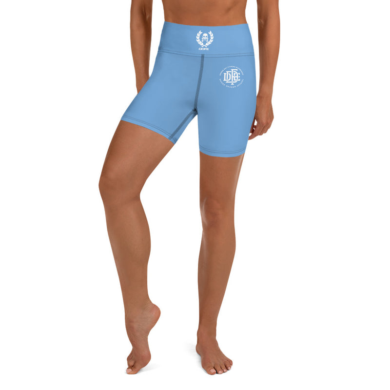 Premium Collection 'DDFE' Baby Blue Performance Shorts - Savage Season Apparel Store