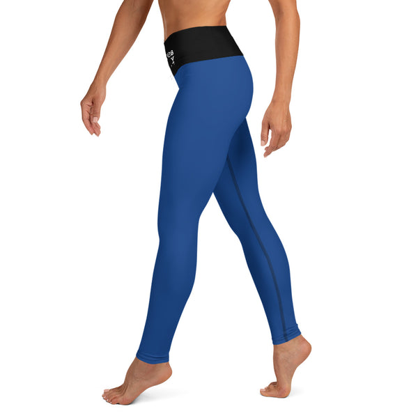 'Savages ONLY' High Waist Royal Performance Leggings - Savage Season Apparel Store