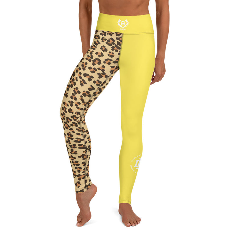 Premium Collection Leopard x Gold Leggings - Savage Season Apparel Store