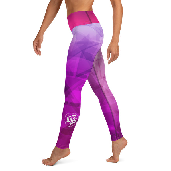 Premium Collection 'Purple Abstract' Leggings - Savage Season Apparel Store