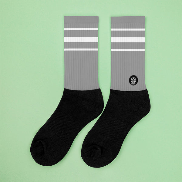 Classic Grey Crew Sock - Savage Season Apparel Store
