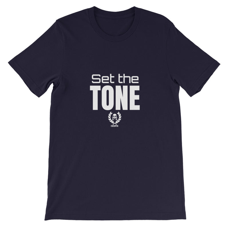 'Set the Tone' Unisex T-Shirt - Doomsday Fitness Apparel by Doomsday Fitness Experience