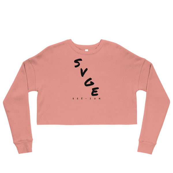 SVGE Collection Cola Crop Sweatshirt - Savage Season Apparel Store