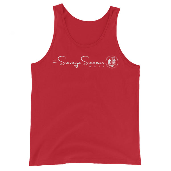 Premium Collection 'DDFE' Red Tank Top - Savage Season Apparel Store