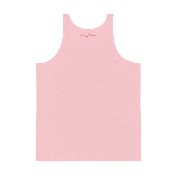 Premium Collection Pink Muscle Tank Top - Savage Season Apparel Store