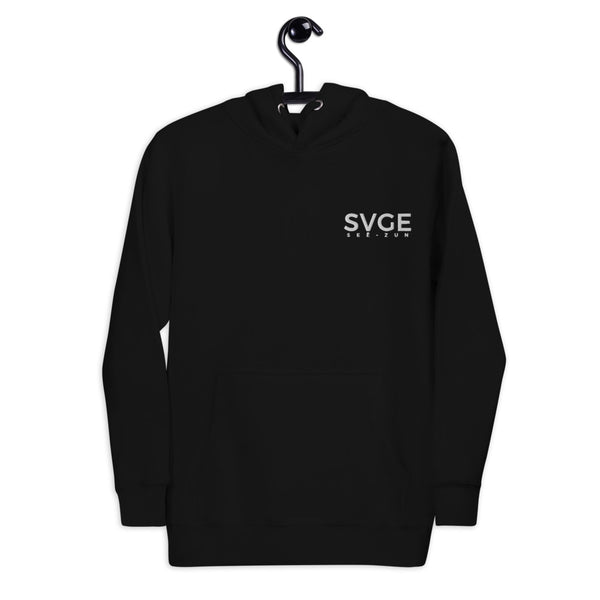 SVGE Collection Black Lifestyle Hoodie - Savage Season Apparel Store