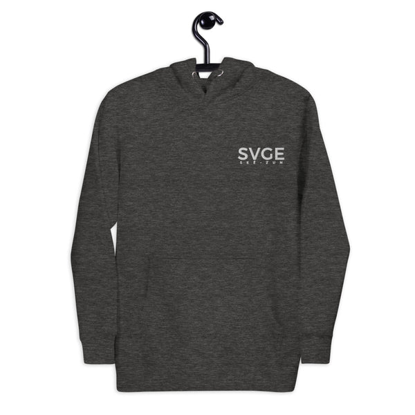 SVGE Collection Grey Lifestyle Hoodie - Savage Season Apparel Store