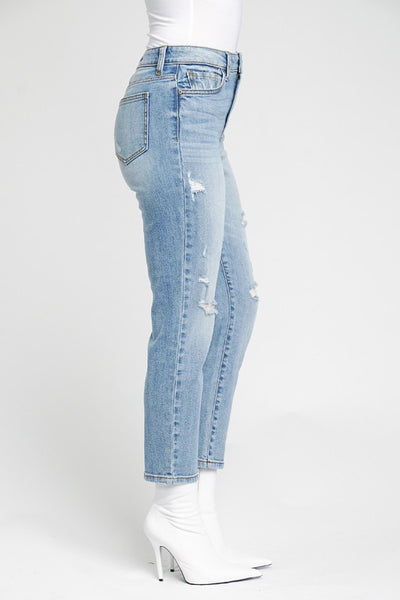 Josie High Rise Cropped Jeans - SIZE 3