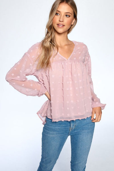 Bonnie Shirring Top