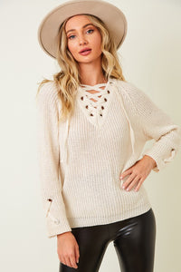 Catalina Criss Cross Sweater - 3 Color Options