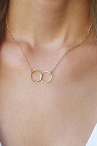 Reis Golden Circle Necklace