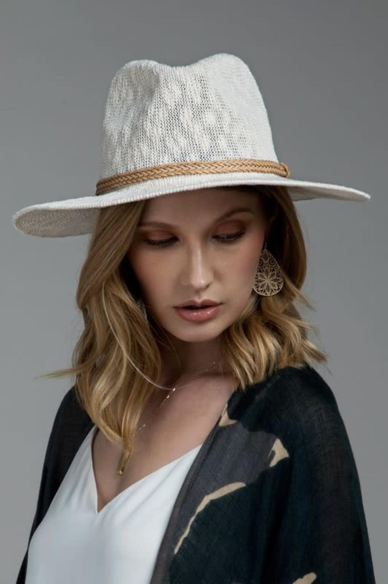 Ahhna Panama Hat - Natural