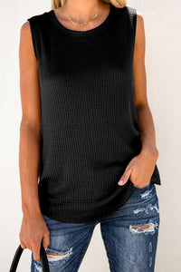 Belize Waffle Knit Tank - 4 Color Options
