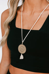 Breeze Simple Statement Necklace