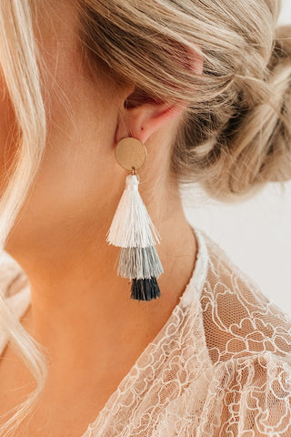 Briggy Tassel Drop Earrings
