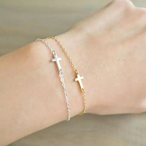 Faith Cross Bracelet - 2 Color Options