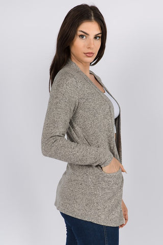 Gemini Simple Cardigan - 2 Color Options
