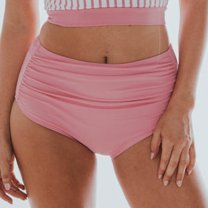 Barefoot Ruched Swim Bottom - 2 Color Options
